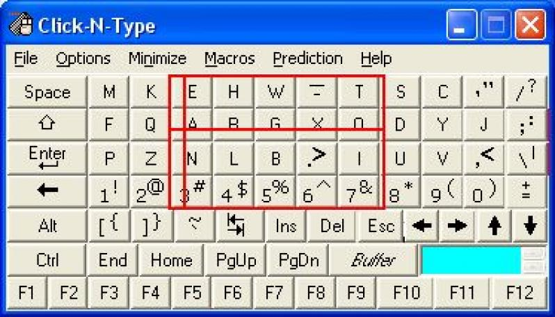 Click-N-Type screenshot