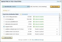 Amazon Cloud Drive Screenshot
