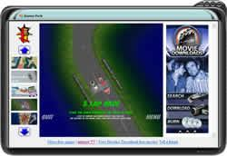 Gamespak Multi games software Screenshot