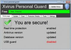 Xvirus personal guard Screenshot