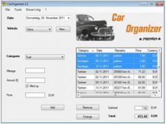 CarOrganizer Screenshot