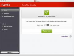 Avira Free Antivirus for Mac Screenshot