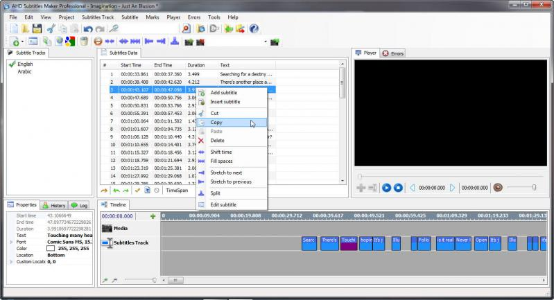 ahd subtitles maker professional