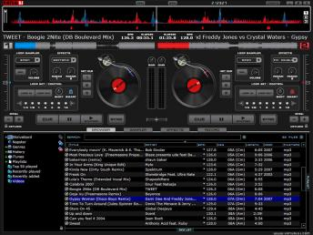 Virtual DJ Home Free Edition Screenshot