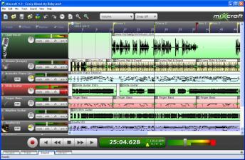 Mixcraft Recording Studio Screenshot