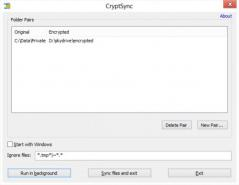 CryptSync Screenshot
