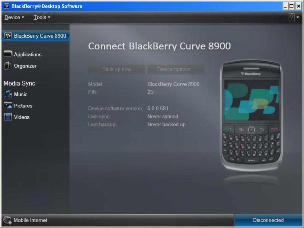 blackberry desktop manager 7.1.0.41