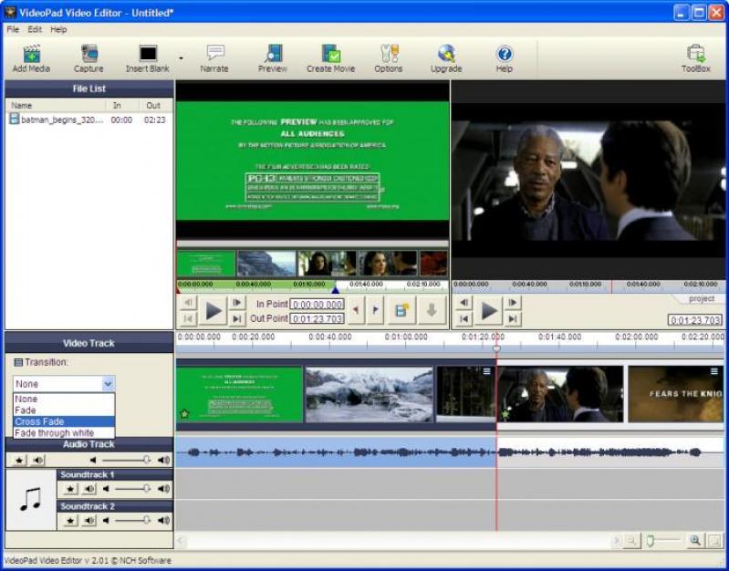 free videopad video editor full version