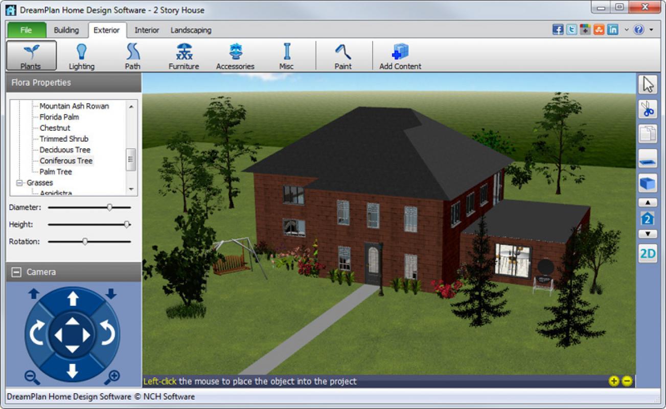 Dreamplan home design software download filecluster for Home building software
