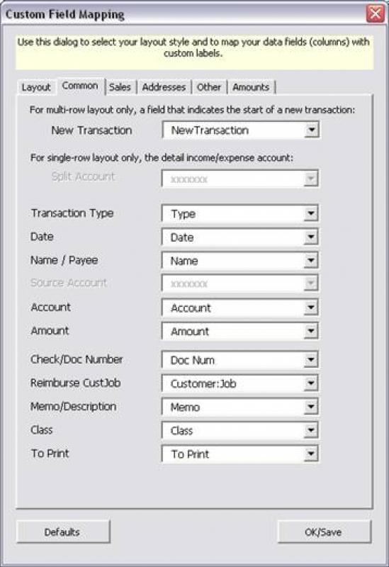 IIF Transaction Creator