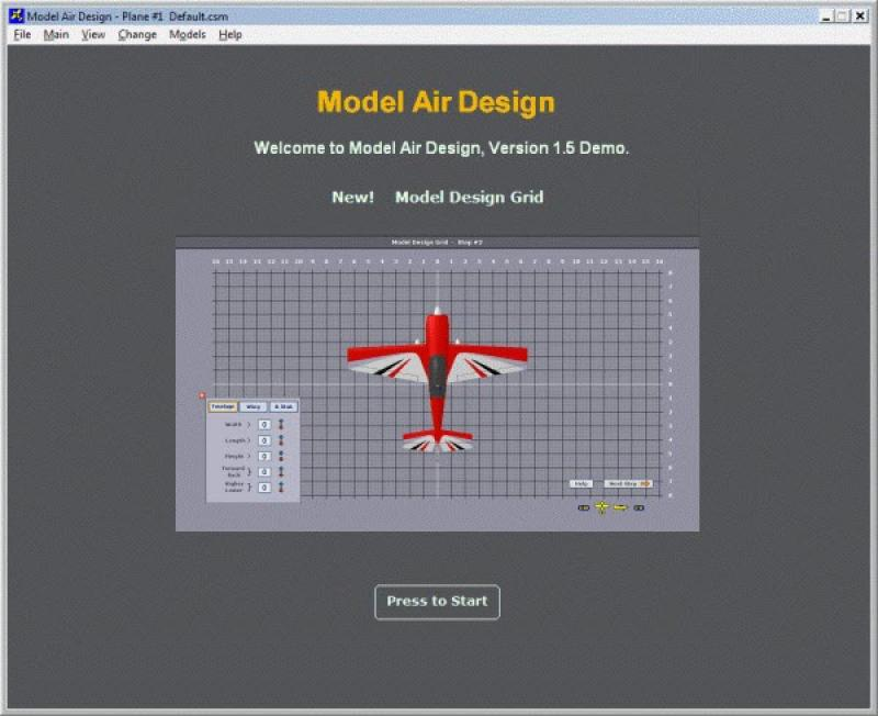 Model Air Design screenshot
