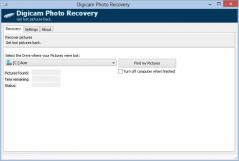 Digicam Photo Recovery Screenshot