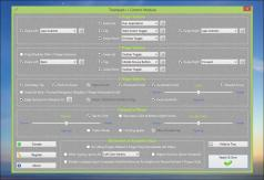 Trackpad++ Driver and Control Module Screenshot