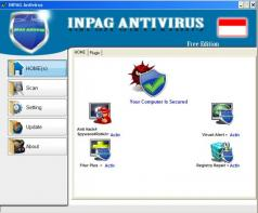 Inpag Antivirus Screenshot