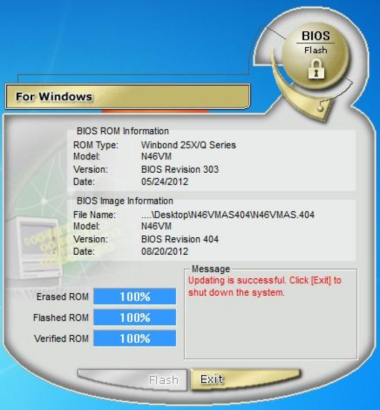 asus winflash windows 7