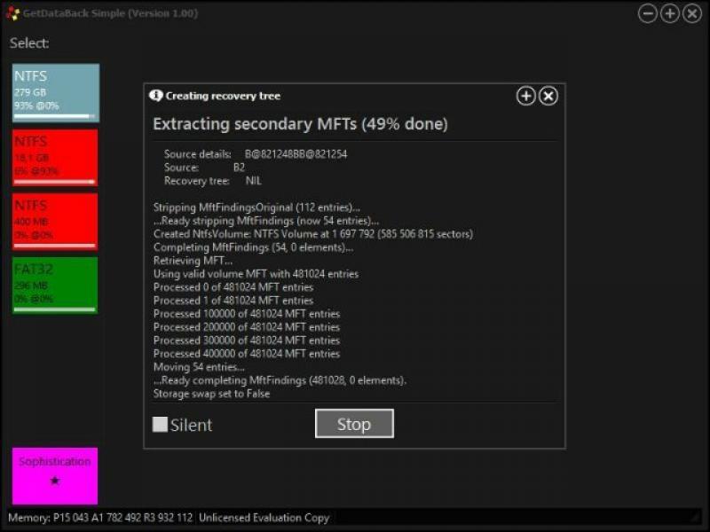 getdataback simple license key 5.00