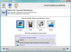 PHOTORECOVERY Screenshot