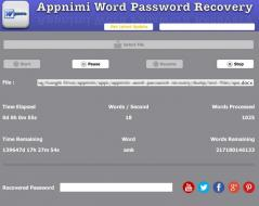 Appnimi Word Password Recovery Screenshot