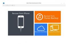 Stellar Phoenix Data Recovery for iPhone Mac Screenshot
