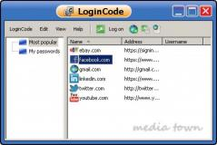 LoginCode Screenshot