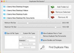 Duplicate File Doctor Screenshot