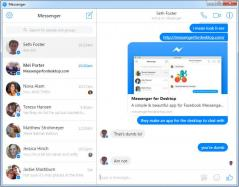 Messenger for Desktop Screenshot