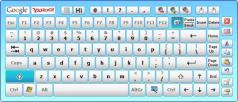 Hot Virtual Keyboard Screenshot
