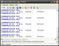 Advanced PBX Data Logger Screenshot