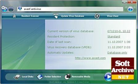 Avast Pro Antivirus Screenshot