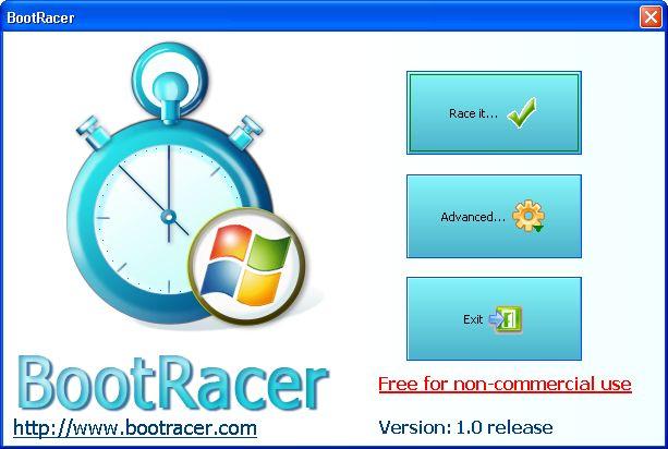 BootRacer screenshot