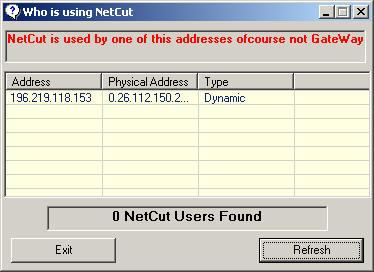 Anti Netcut Screenshot