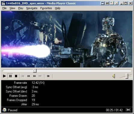 Media Player Classic - Home Cinema Screenshot