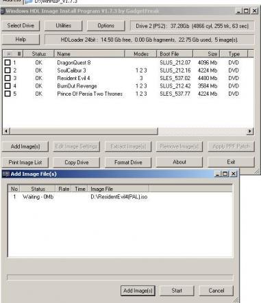 winhiip ps2 windows 7