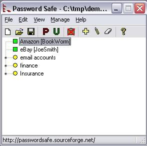 KeePass Password Safe Portable Screenshot