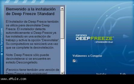 Deep Freeze Standard Screenshot