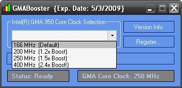 GMABooster screenshot