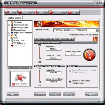 AMD Catalyst Display Driver / Windows 7/8 32bit (former ATI cataclysm) Screenshot