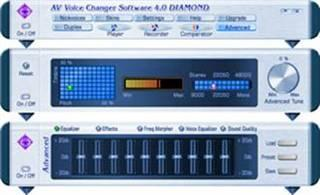 AV Voice Changer Software Diamond Edition Screenshot