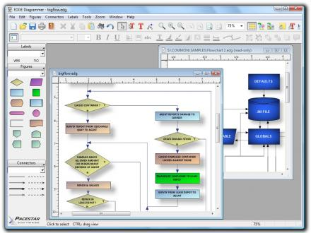EDGE Diagrammer screenshot
