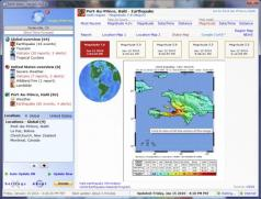Earth Alerts Screenshot