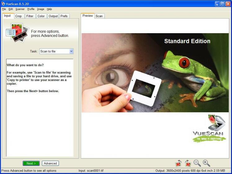 Download vuex3296 exe free - VueScan