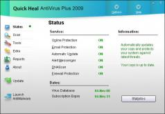 Quick Heal Antivirus Plus Screenshot