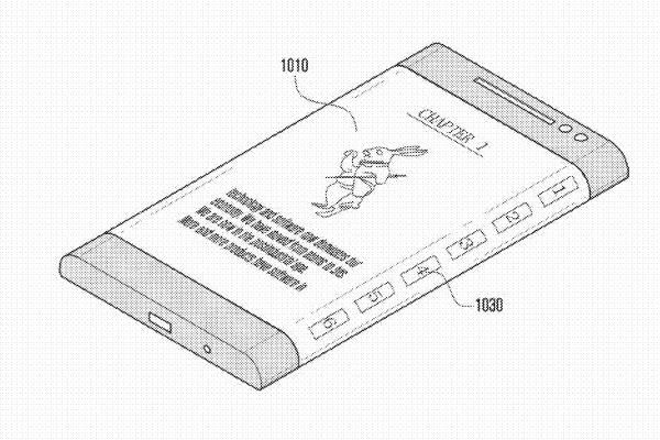 Samsung wraparound display sketch2