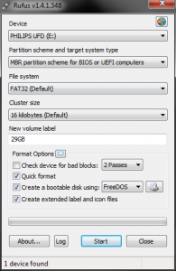 How To: Create a bootable USB using Rufus