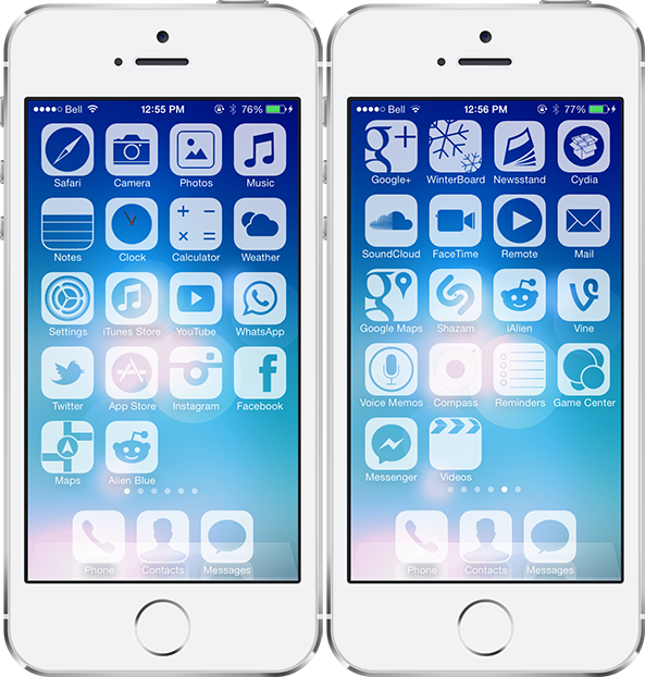 Best iOS 7 Themes [Part 1]