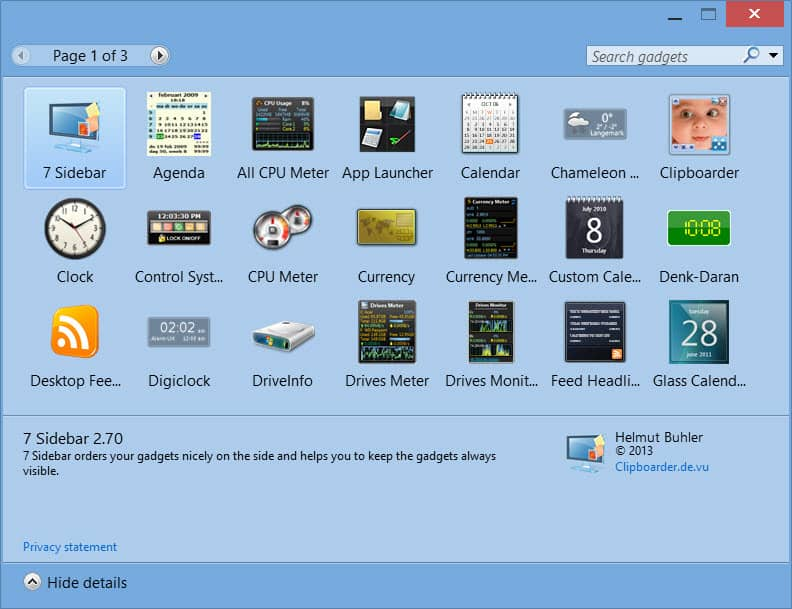 How To: Bring Back Desktop Gadgets to Windows 8