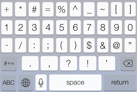 iphone 5s keyboard ios 7 how to add a row of number to ios 7 keyboard 17479