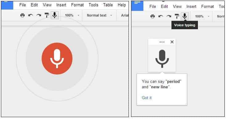 Voice To Text Dictation Coming To Google Docs Desktop Version