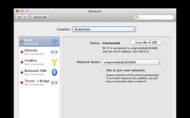 Mac Wireless Networks