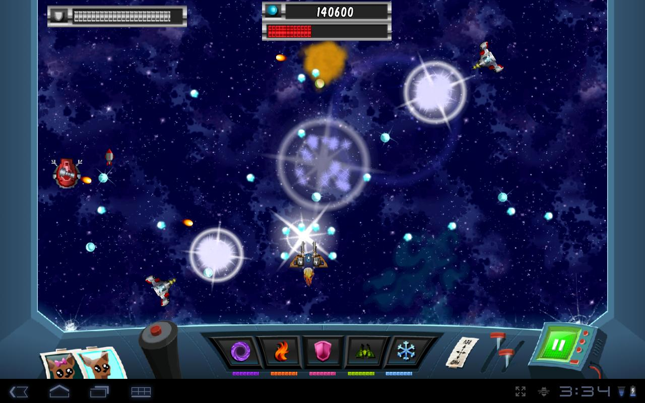 space shooting games online